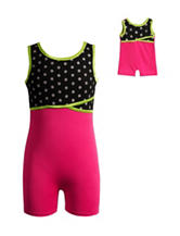 Dollie & Me Polka Dot Unitard - Girls 4-14