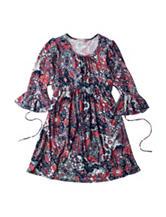 Speechless Multicolor Mosaic Print Dress - Girls 7-16