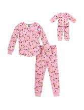 Dollie & Me Horse Print Pajamas Set - Girls 4-14