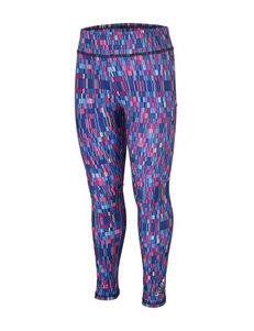 adidas® Hyper Blur Abstract Tile Print Leggings - Girls 2-6x