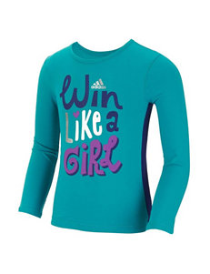 Adidas® Win Like a Girl Top - Girls 2-6x