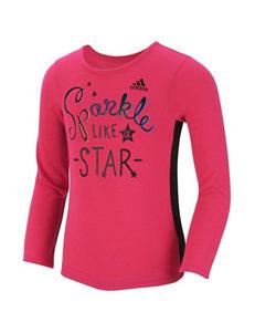 adidas® Sparkle Like A Star Top - Girls 2-6x