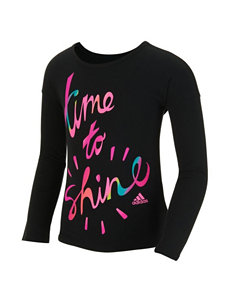 adidas® Time To Shine Top - Girls 2-6x