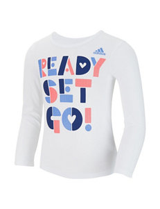 adidas® Ready Set Go Top - Girls 2-6x