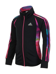 Adidas® Score Keeper Color Block Zip Jacket - Girls 2-6x