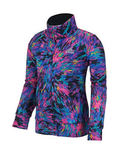 adidas® Splatter Print Tricot Jacket - Girls 2-6x