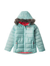 Columbia Chills Fur Hooded Jacket - Girls 7-16