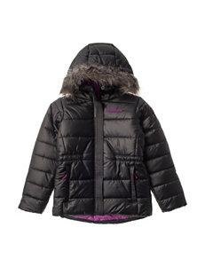 Columbia Chills Fur Hooded Jacket - Girls 7-16