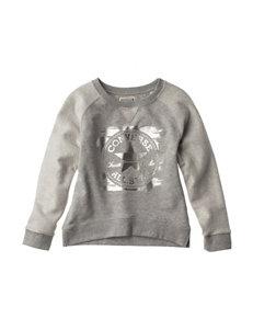 Converse Foil Sweatshirt - Girls 7-16