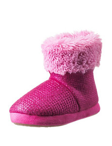 Cuddl Duds Pink Ankle Boots & Booties