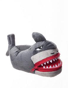 Capelli Hungry Shark Slippers - Boys 9-4