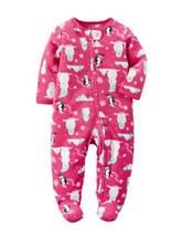 Carters® Snowman Print Sleep & Play - Baby 0-9 Mos.