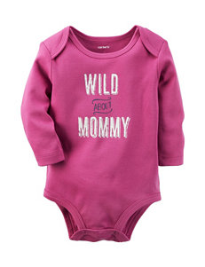 Carters® Wild About Mommy Bodysuit - Baby 0-9 Mos.