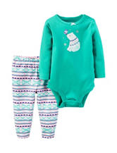 Carters® 2-pc. Polar Bear Bodysuit & Leggings Set - Baby 0-18 Mos.