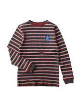 U.S. Polo Assn. Striped Print Shirt - Boys 8-20