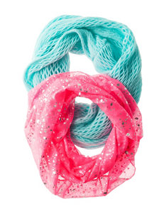 Capelli 2-pk. Assorted Scarves Set