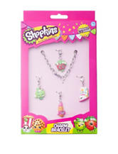 Shopkins 4-pc. Charm Bracelet Set