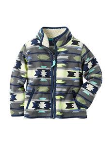 Carter's® Aztec Print Full Zip Fleece Jacket - Boys 4-8