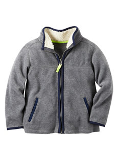 Carter's Grey Lightweight Jackets & Blazers