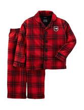 Carter's® 2-pc. Plaid Print Pajama Set – Toddler Boys