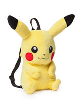 Pikachu Plush Mini Backpack