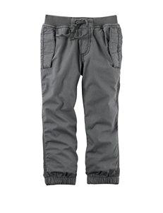 Carter's® Grey Poplin Pants - Boys 4-8