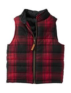 Carters® Plaid Print Vest - Boys 4-8