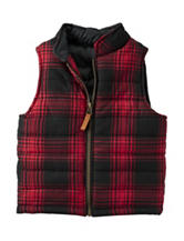 Carters® Plaid Print Vest - Boys 4-8