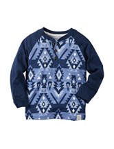 Carters® Aztec Print Henley Top - Boys 4-8