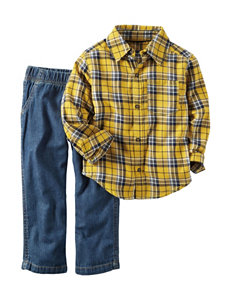 Carter's® Flannel Top & Pant Set - Toddler Boys