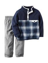 Carters® 2-pc. Plaid Print Jacket & Pant Set - Toddler Boys