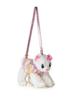 Poochie & Co. Rainbow Print Kitty Bag