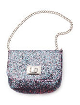 Capelli Chunky Glitter Crossbody Bag - Girls