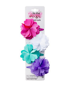 On The Verge 4-pk. Flower Clips
