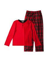 Komar 2-pc. Thermal Henley Pajama Set - Boys 4-16