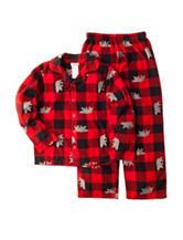 Komar 2-pc. Plaid Bear Coat Pajama Set - Boys 4-16