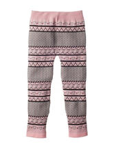Wishful Park Heart & Aztec Print Sweater Leggings - Toddlers & Girls 4-6x
