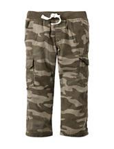 Carter's® Camouflage Print Cargo Canvas Pants - Toddler Boys