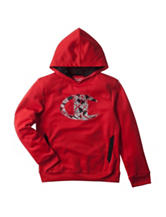 Champion® Red Fragmented Logo Hoodie - Boys 8-20