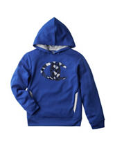Champion® Blue Fragmented Logo Hoodie - Boys 8-20