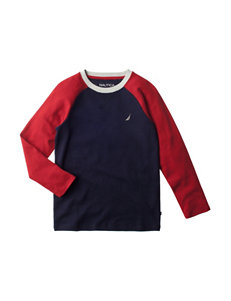 Nautica Raglan Thermal Shirt - Boys 8-20