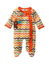 Baby Essentials First Thanksgiving Sleep & Play with Hat - Baby 3-9 Mos.