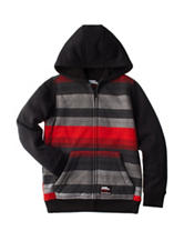 No Fear Striped Sherpa Jacket - Boys 8-20