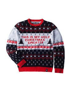 Machine Black /  White Sweaters