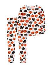 Carter's® 2-pc. Pumpkins & Cats Pajama Set – Toddler Girls