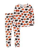 Carters® 2-pc. Pumpkins & Cats Pajama Set – Girls 10-12