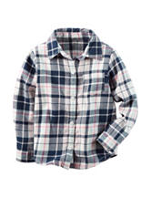 Carter's® Plaid Flannel Top - Toddler Girls