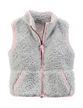 Carter's® Grey Sherpa Vest - Girls 4-8