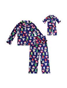 Dollie & Me 2-pc. Hot Cocoa Pajama Set - Girls 4-14