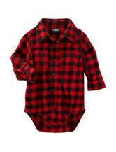 OshKosh Bgosh® Buffalo Check Print Bodysuit - Baby 3-24 Mos.